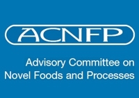 Advisory Committee on Novel Foods and Process Logo - which reads ACNFP